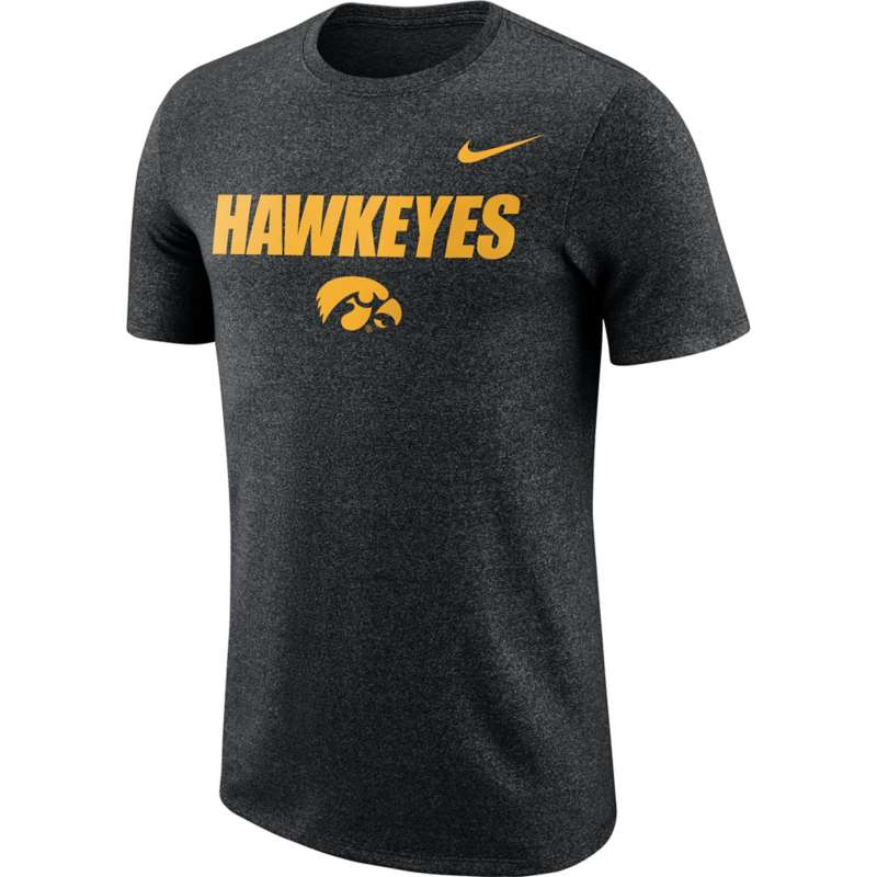 Nike Iowa Hawkeyes Marled Logo T-Shirt