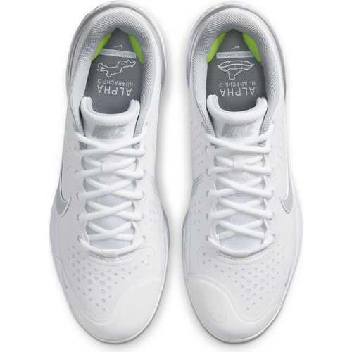 White/Smoke Grey/Electric Green