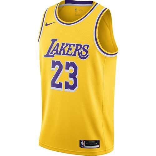 Nike Los Angeles Lakers LeBron James Icon Edition Swingman Jersey