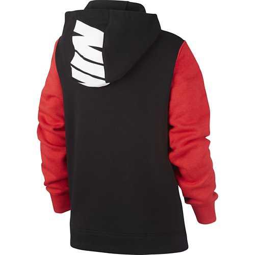Black/Black/University Red/White