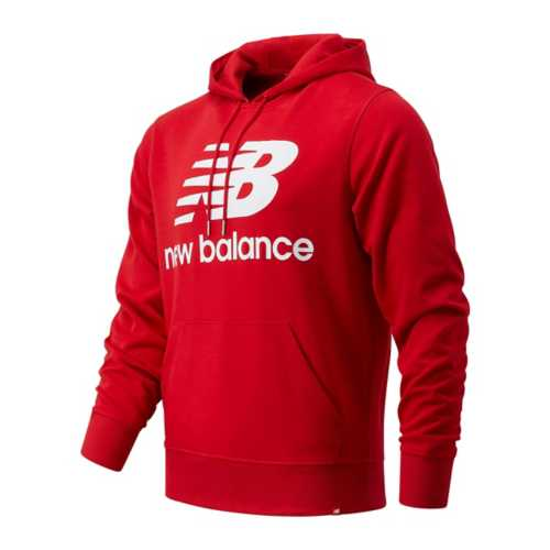 Men's New Balance Essential Stacked Logo PO Hoodie