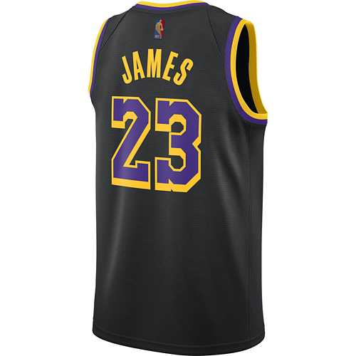 Nike Los Angeles Lakers LeBron James Earned Edition Jersey ...