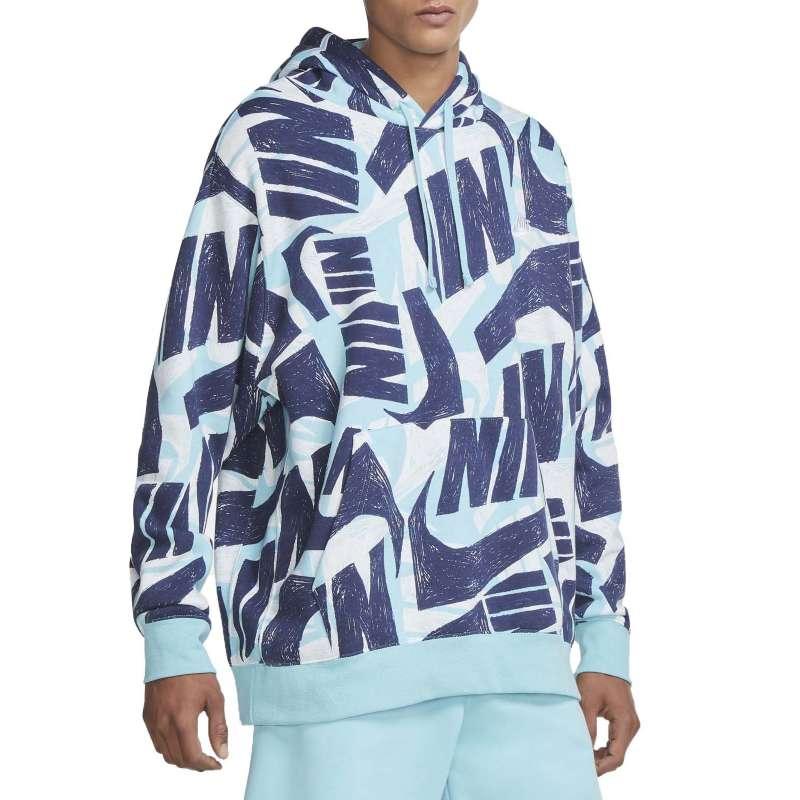 Men's Nike Sportswear Club All Over Print Basketball Hoodie