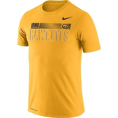 Nike Iowa Hawkeyes Dri-FIT Legend Team Issue T-Shirt