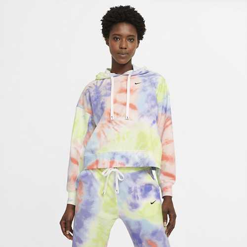 Women's Nike Dri-FIT Get Fit Tie-Dye Pullover Training Hoodie