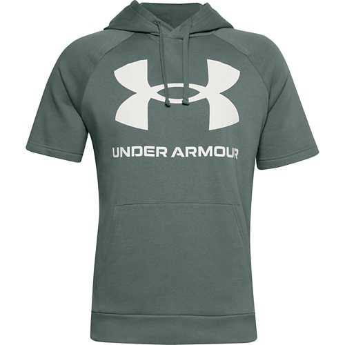Men's Under Armour Rival Big Logo Short Sleeve Hoodie
