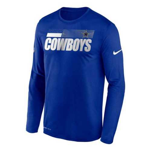 Nike Dallas Cowboys Dri-FIT Legend Sideline Long Sleeve Shirt
