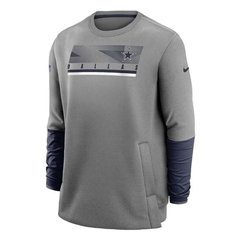 Nike Dallas Cowboys Coach Therma Crewneck Sweatshirt