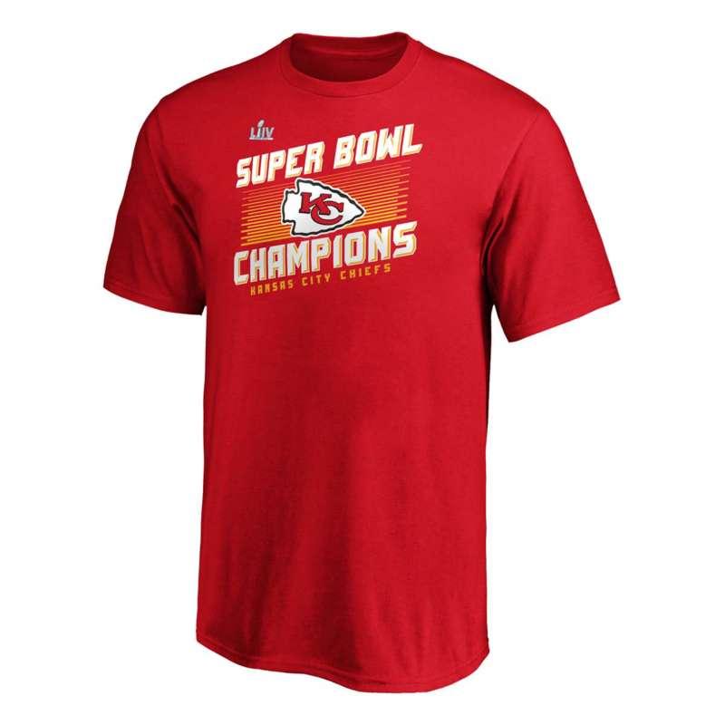 Fanatics Kids' Kansas City Chiefs Super Bowl Roster T-Shirt