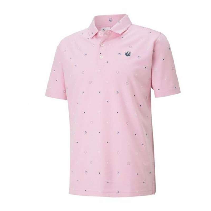 Men's Puma Legacy Print Golf Polo