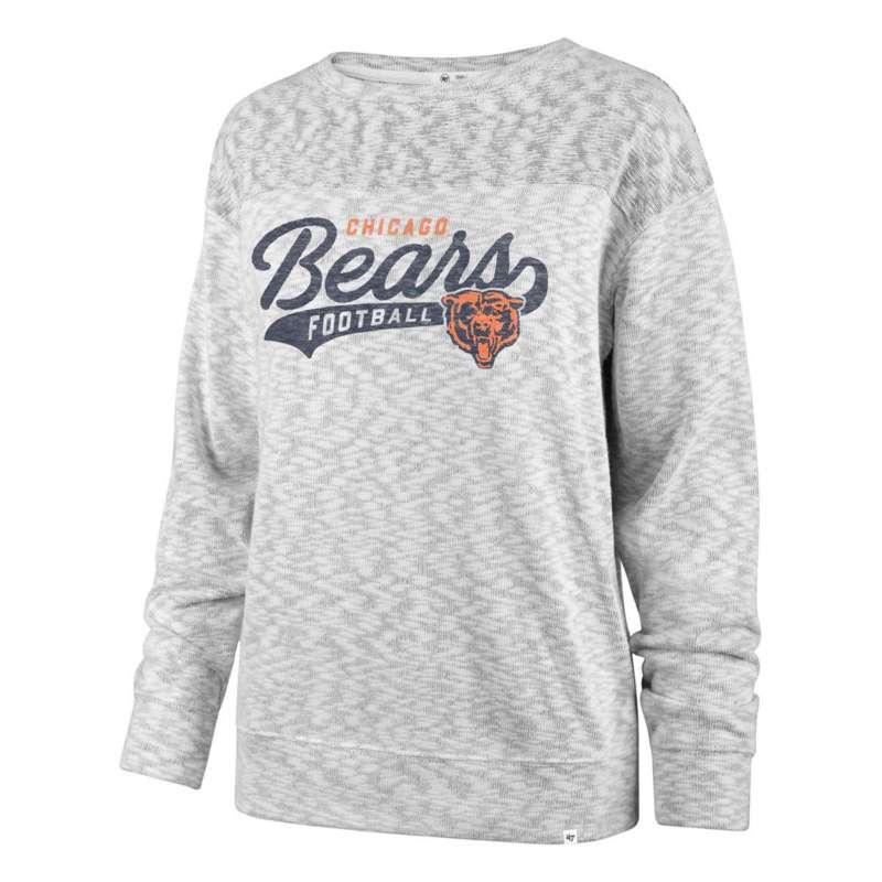 47 Brand Women's Chicago Bears Script Crewneck Sweatshirt