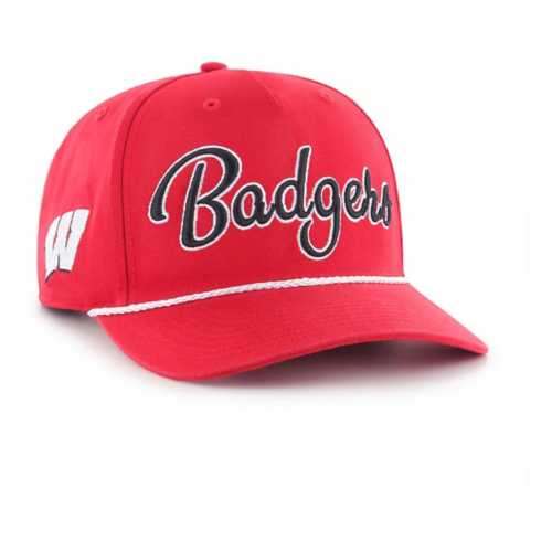 47 Brand Wisconsin Badgers Overhand Rope Hat