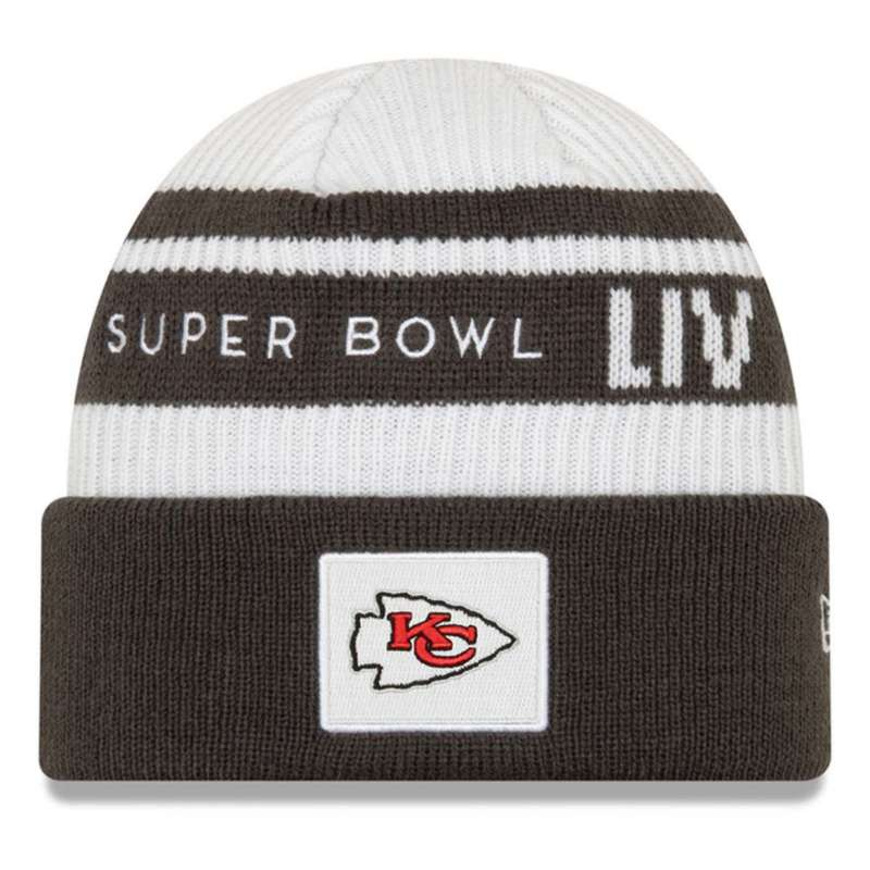 New Era Kansas City Chiefs Super Bowl 54 Beanie