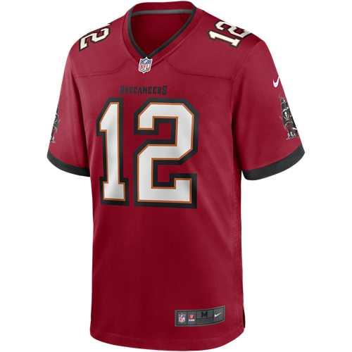 Nike Tampa Bay Buccaneers Tom Brady #12 Game Jersey