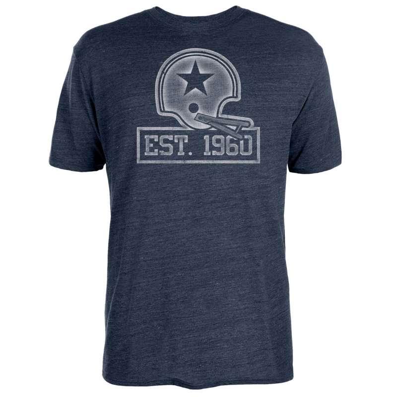 Dallas Cowboys 60th Anniversary Stats T-Shirt