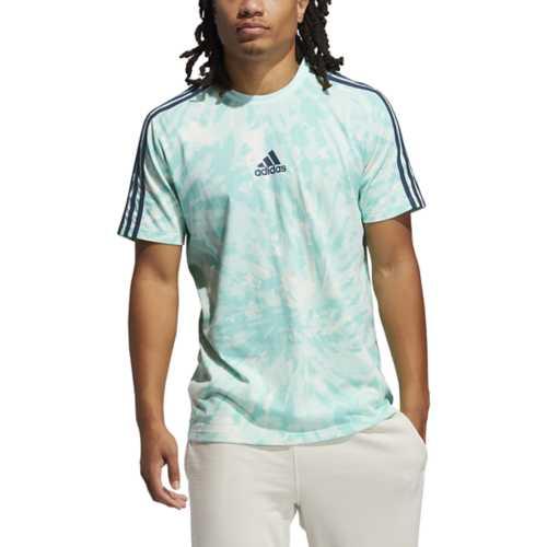 Men's adidas 3 Stripe Summer Wash T-Shirt | SCHEELS.com