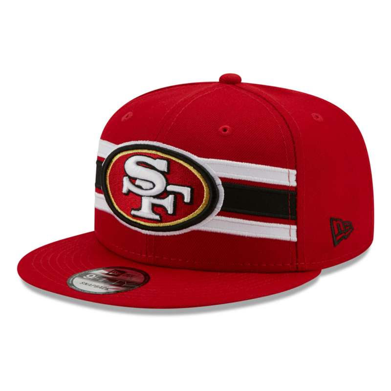 New Era San Francisco 49ers Strike 9Fifty Snapback Hat