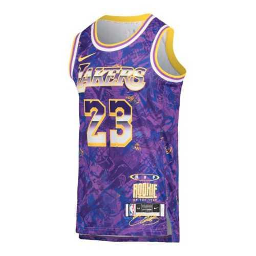 Nike Los Angeles Lakers Lebron James #23 Select Series MVP Swingman Jersey