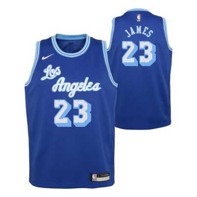 lebron blue jersey