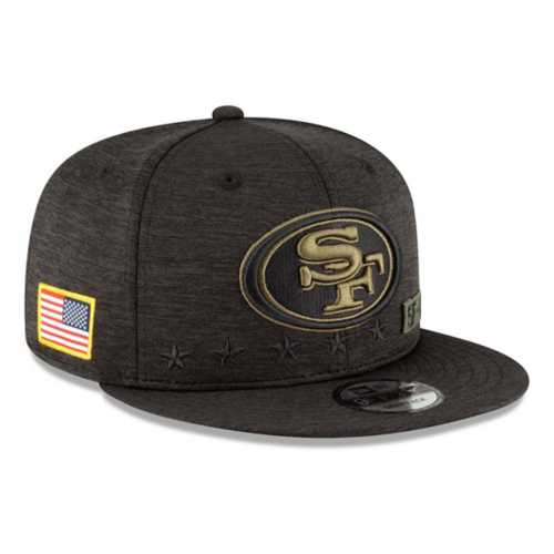 New Era San Francisco 49ers Salute To Service Snapback Hat