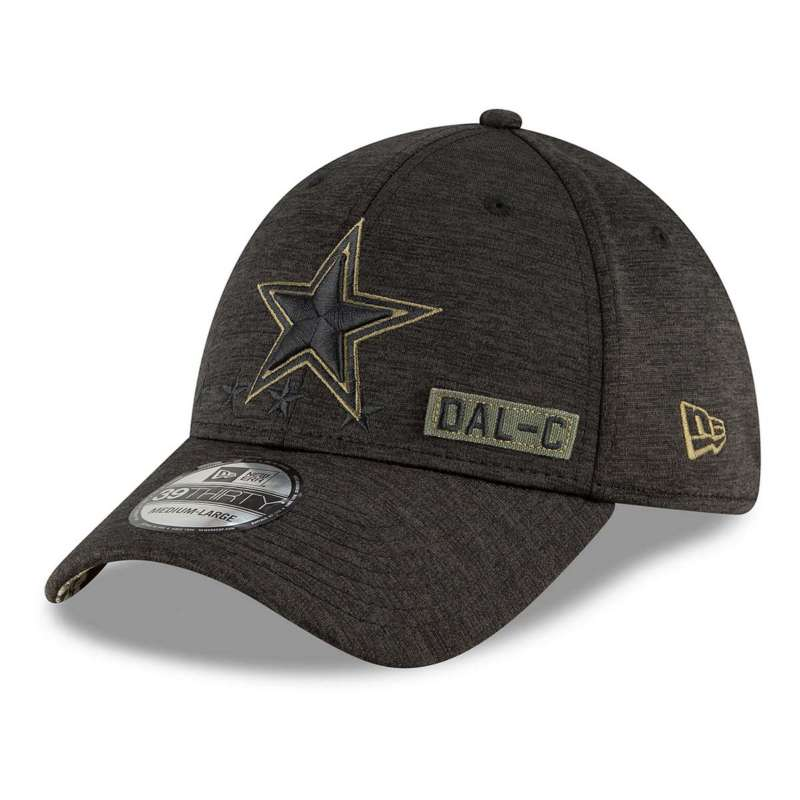 New Era Dallas Cowboys Salute To Service 39Thirty Stretch Fit Hat