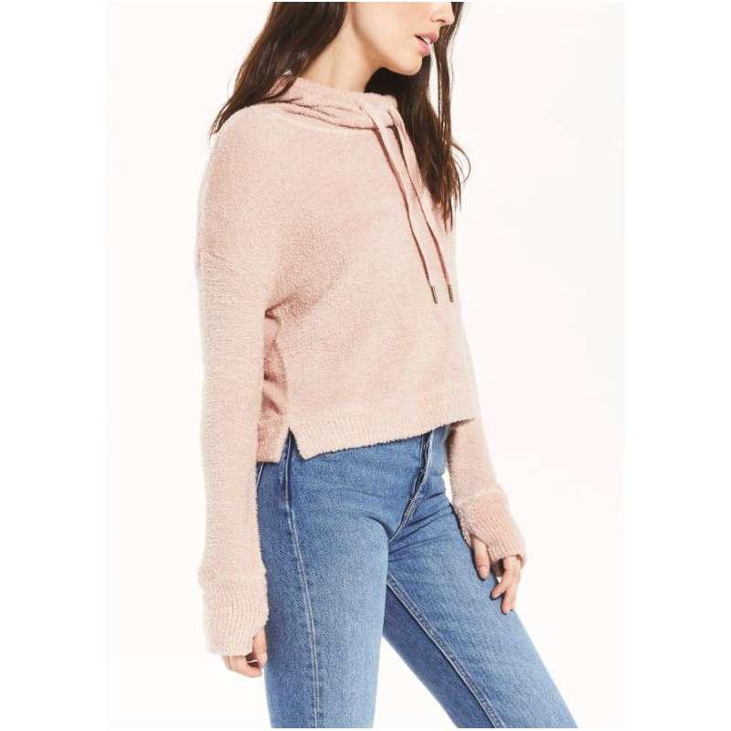 Women's Z Supply Kacey Feather Hoodie Sweatshirt