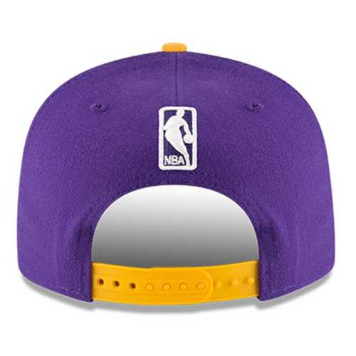 New Era Los Angeles Lakers 2020 Finals Champions Two Tone 9Fifty Snapback Hat