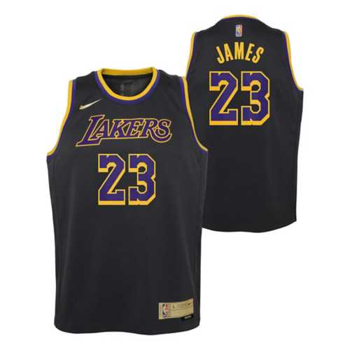 Nike Kids' Los Angeles Lakers LeBron James #23 Earned Jersey