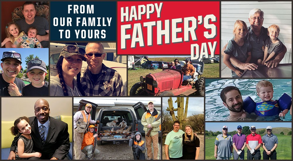 From our family to yours, Happy Father