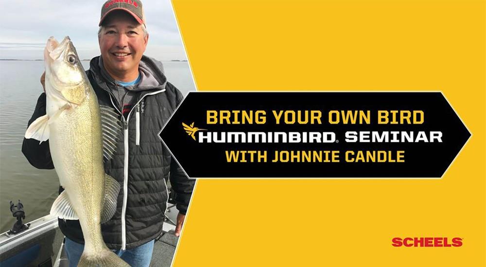Rochester SCHEELS Humminbird Seminar with Johnnie Candle