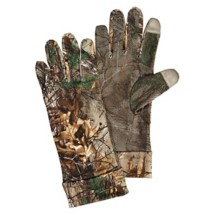 Scent-A-Way Silver Spandex Unlined Tech Tip Gloves
