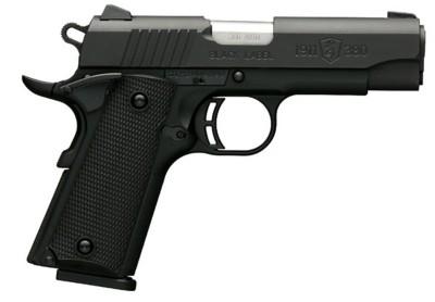 Browning 1911 Black Label Compact 380 ACP Handgun