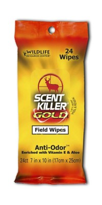 Scent Killer Gold Field Wipes