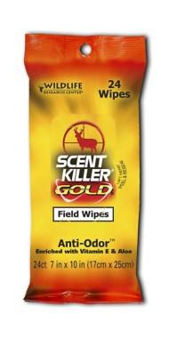 Scent Killer Gold Field Wipes