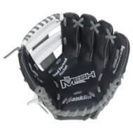 "Franklin Sports Teeball Recreational Series Fielding 9.5"" Baseball Glove with Baseball - Left Hand Throw"