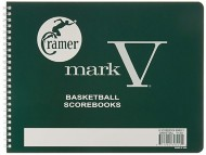 Cramer Mark V Basketball Scorebook