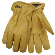 Kinco Lined Grain Cowhide Leather Glove
