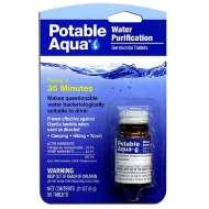 Portable Aqua Water Purification Treatment Tablets