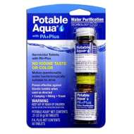 Potable Aqua with PA+ Drinking Water Germicidal Tablets