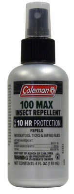 Coleman 100% DEET Insect Repellent