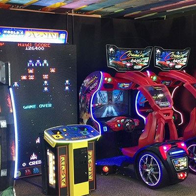 arcade and interactive games