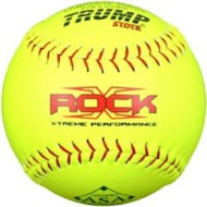 "Trump The Rock ASA 12"" Softball"