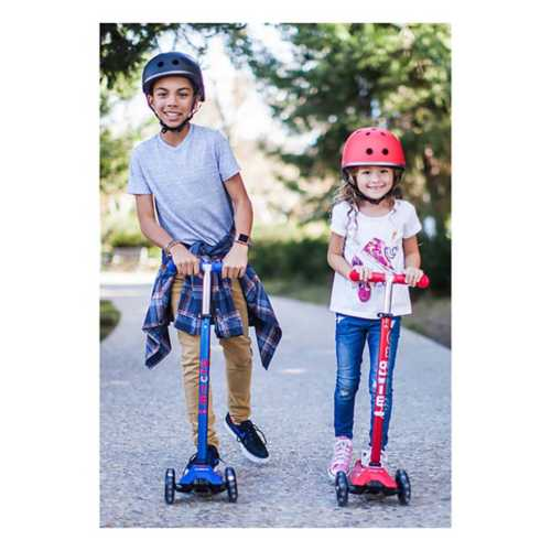 Youth Micro Kickboard Maxi Deluxe LED Scooter Ages 5-12
