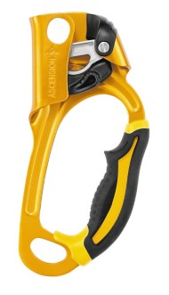 Petzl ASCENSION Ergonomic handled Ascender - left hand