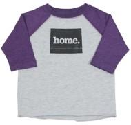Youth Home State Apparel Raglan 3/4 Sleeve Shirt