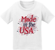 Infant Girls' Spectrum Made In The USA Short Sleeve Shirt