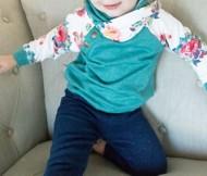 Infant Ampersand Ave Double Hooded Sweatshirt