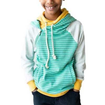 Girls' Ampersand Ave Double Hooded Sweatshirt