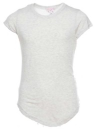 Grade School Girls' Poof! Rainbow Tape Short Sleeve Shirt