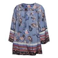 Grade School Girls' Angie Floral Tie Front Dress